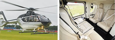 EC135 Helicopter Charter