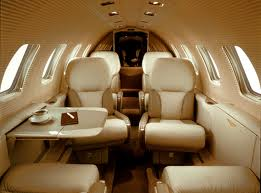 Citation Jet Bravo Cabin