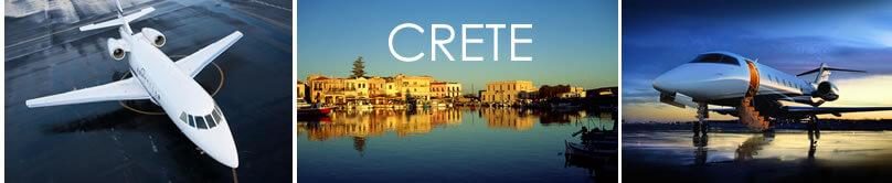 Private Jet Crete