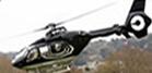 helicopter taking off from Cheltenham