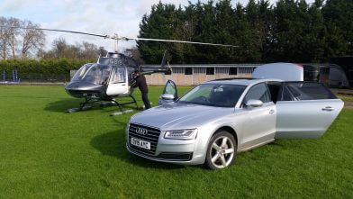 Helicopter charter Manchester