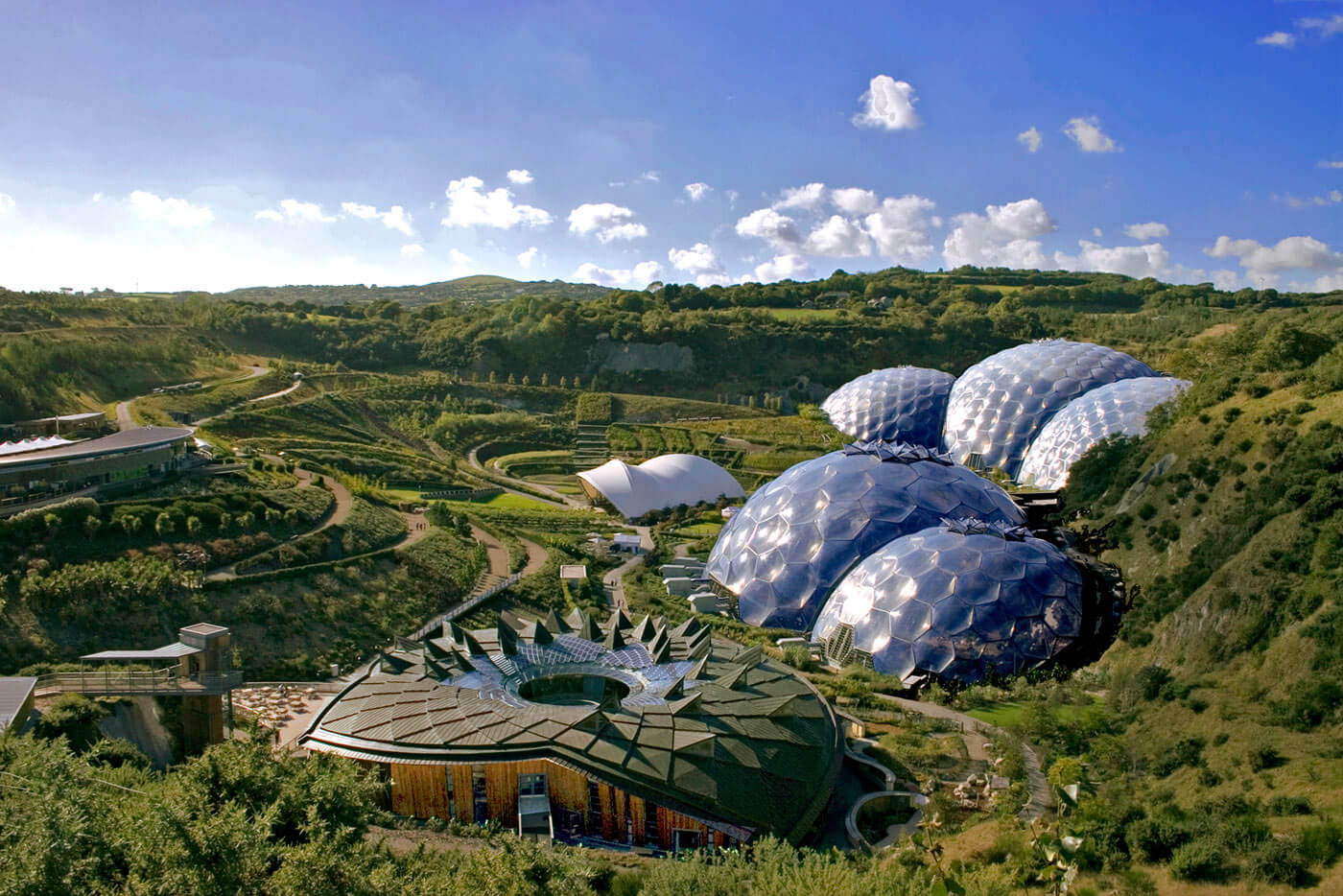 Newquay Eden project