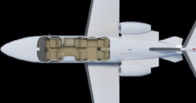 Citation Mustang floor plan