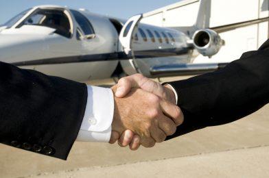 Save up to 75 % on empty leg jet flights