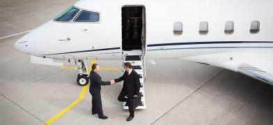 Empty leg Octobet private jet
