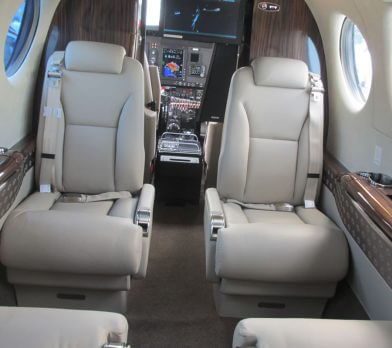 private plane interior
