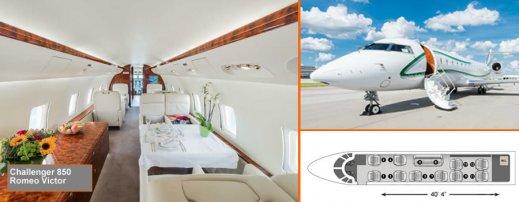Charter Challenger 850