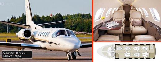 Private jet Citation Bravo Innsbruck