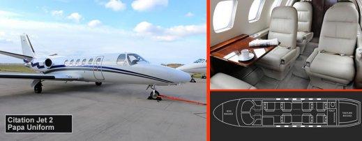Citation Jet 2 private jet