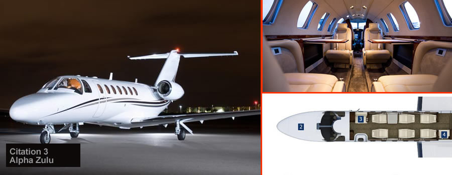 Citation Jet 3 Moscow