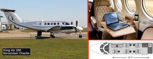 Private plane fairoaks