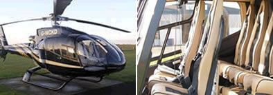 EC130 Helicopter Charter