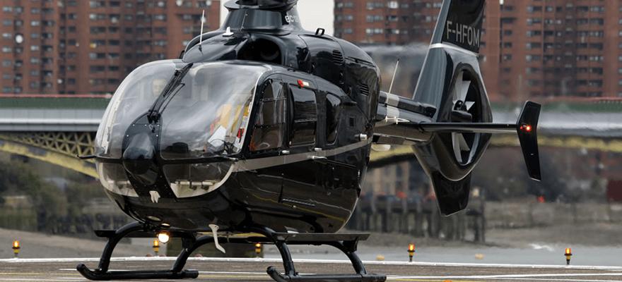Helicóptero Charter London Vangaurd
