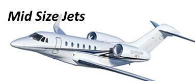 Jets de tamaño medio