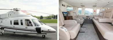 VIP 8 seat helicopter