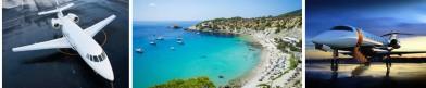 Avión privado Charter Ibiza