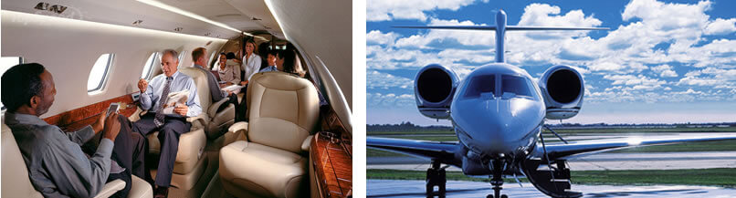 Private jet charter Europe