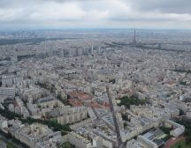 Una vista aerea de Paris