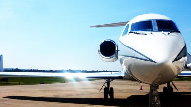 Private jet charter Manchester aircraft at Manchester