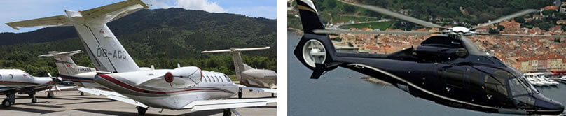 Charter Private Jet St Tropez