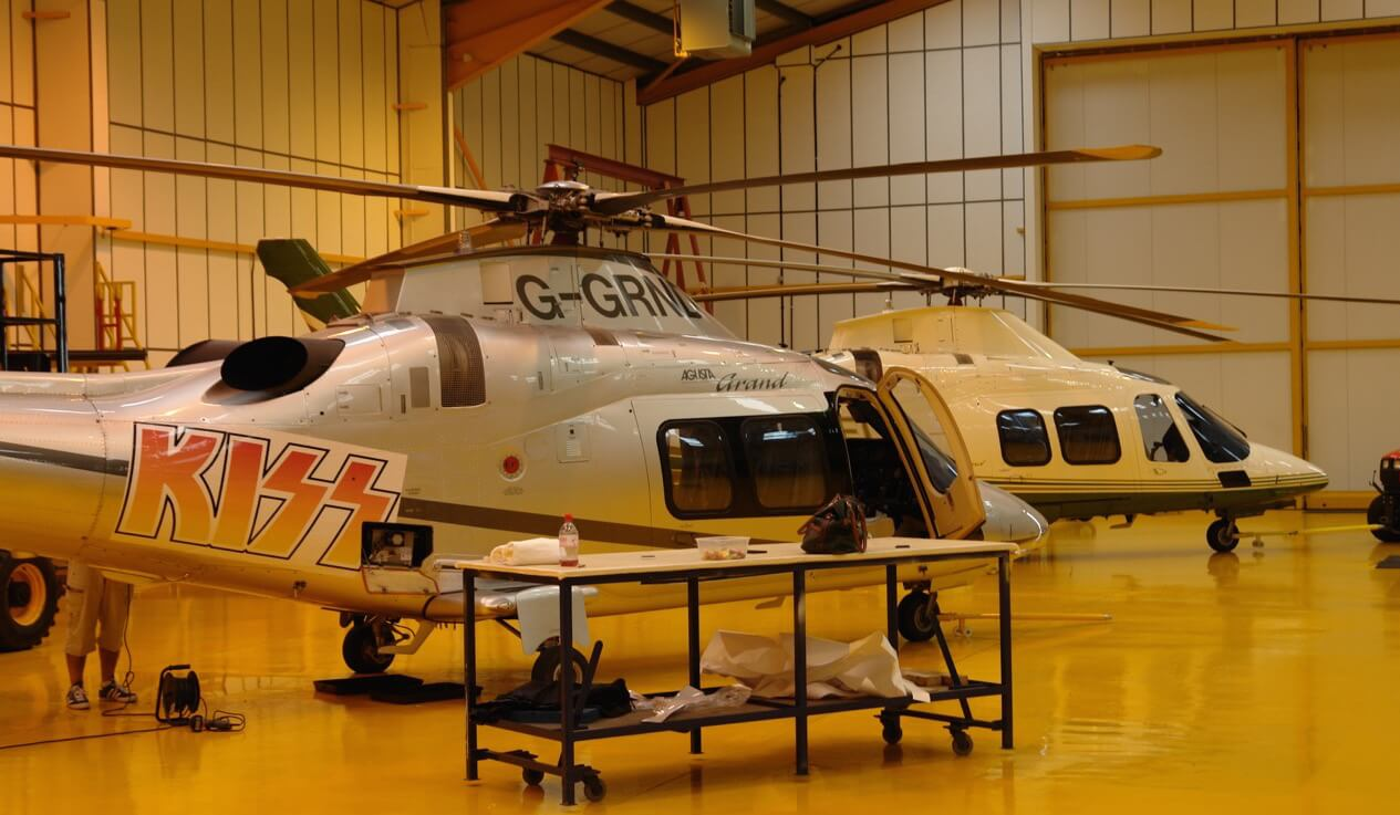 Kiss helicopter2