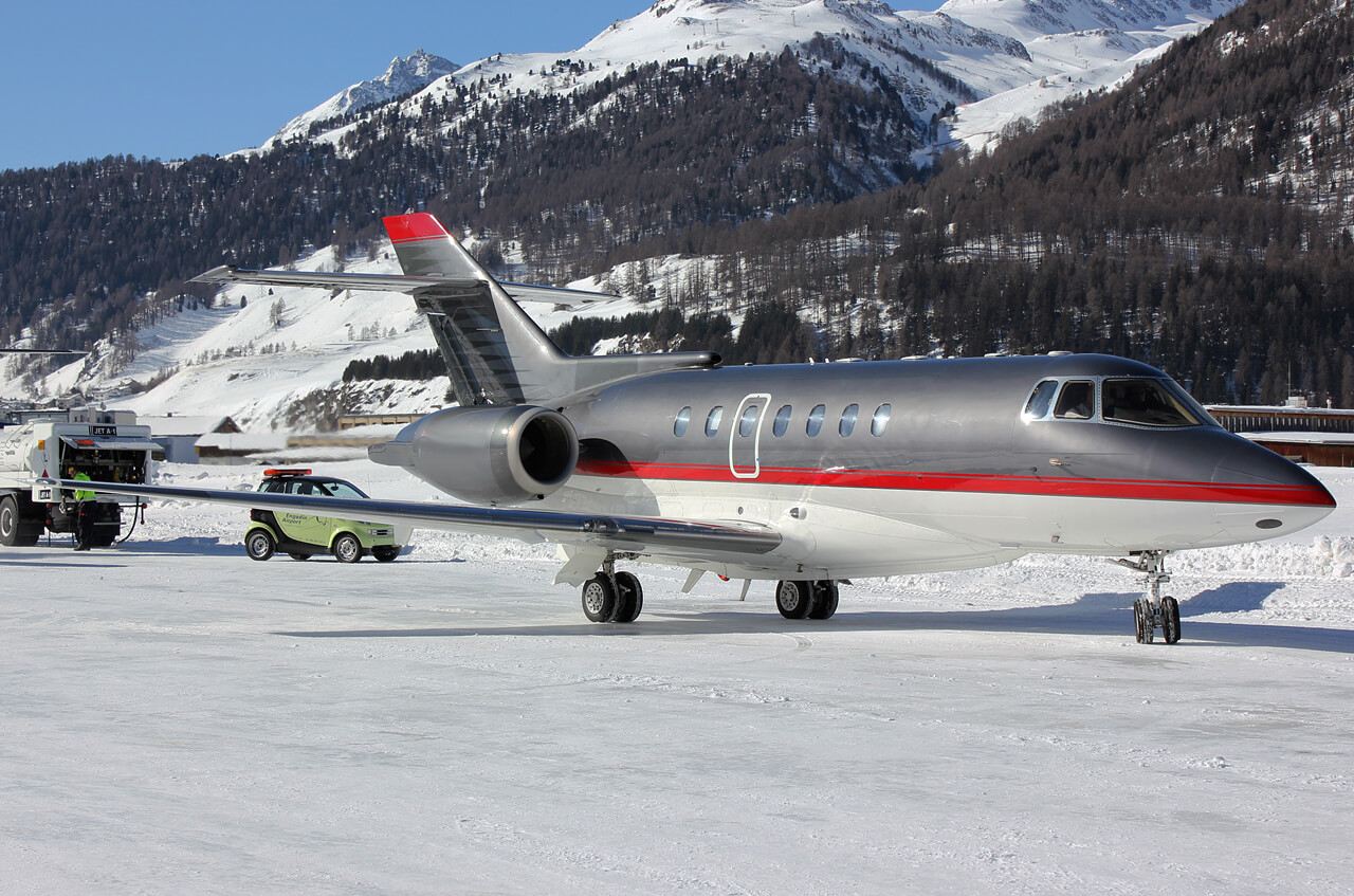 Christmas private jet