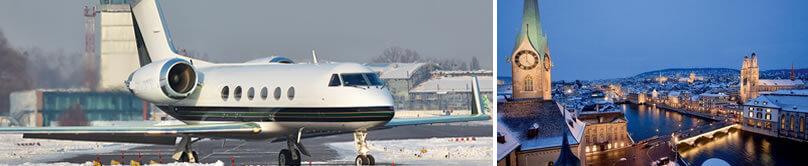 Jet privado Zurich