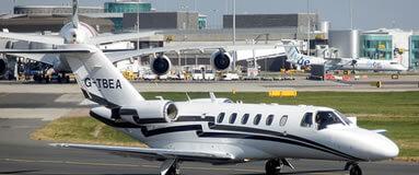 Bristol Airport Private Jet