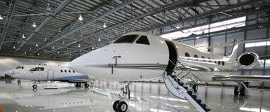 Palma private jet hangar