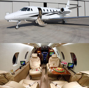 Citation Excel private jet
