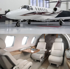 Citation Jet private jet