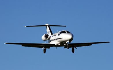 Charter citation mustang private jet
