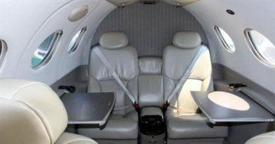 Citation Mustang interior