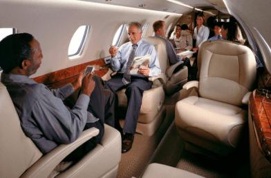 private jet london