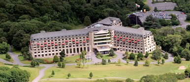 Helicopter charter to celtic manor
