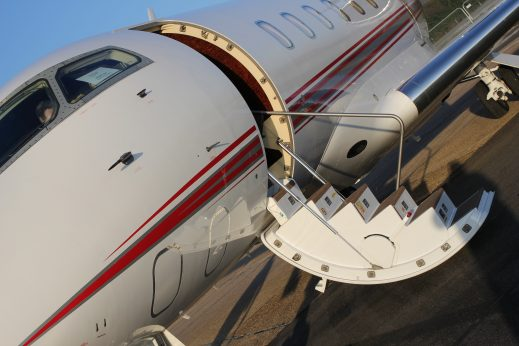 Private jet to cannes