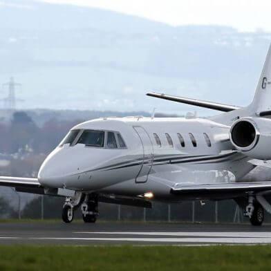 Private jet London to Ibiza
