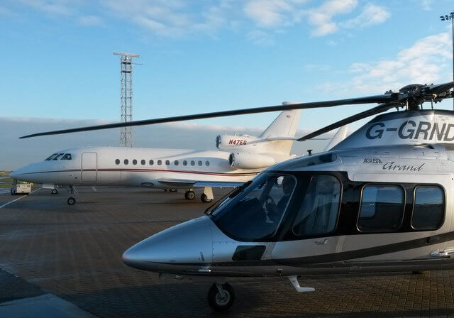 Luton airport to London Helicopter