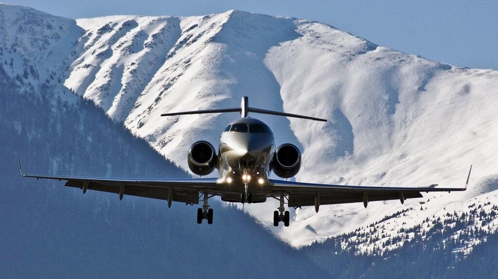 Vuelos en jet privado a destinos de esquí