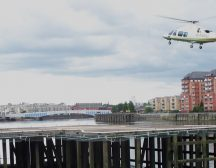London Heliport Helicopter