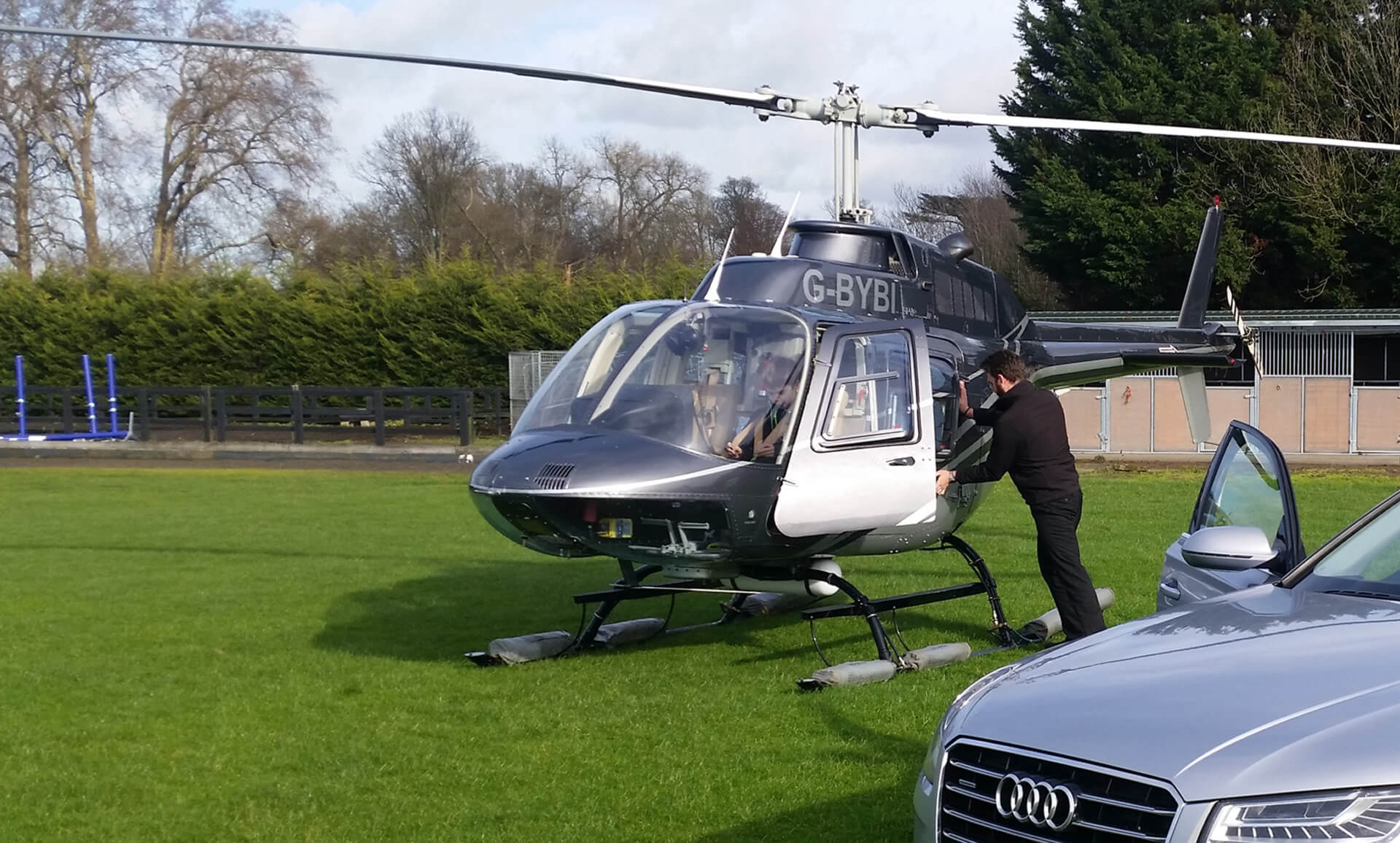 Helicopter charter uk