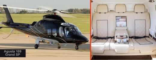 6 seat Helicopter Chaeltenham