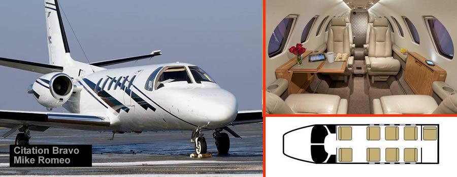 Innsbruck 8 seat jet