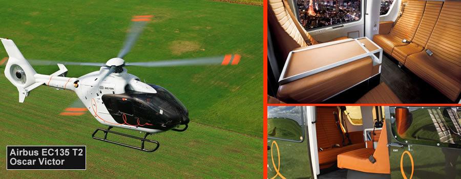 EC135 Helicopter Cheltenham