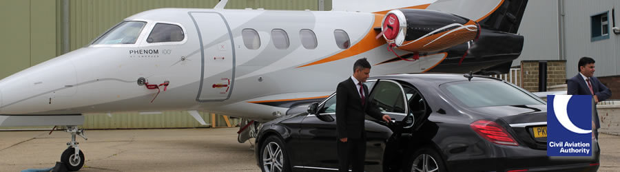 Private Jet Blackbushe