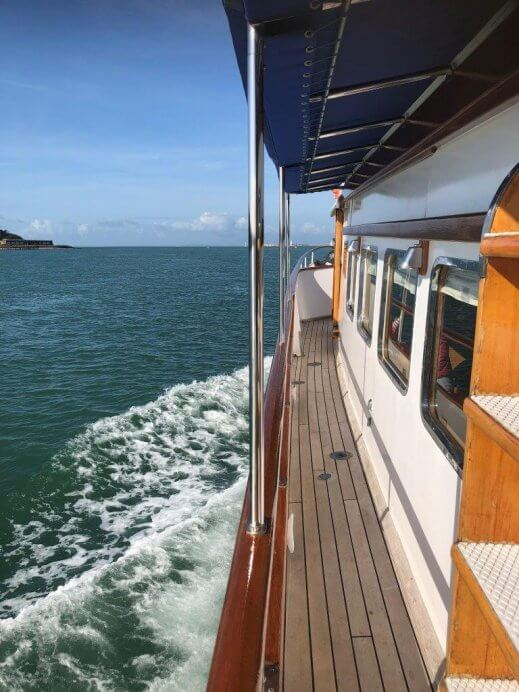 Making headway up the Solent