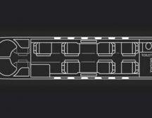 Citation Jet 2 plus floor plan