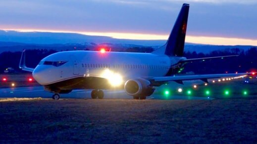 Charter 737 vip jet