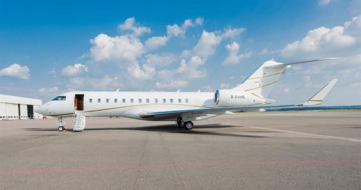 Private jet corona virus travel