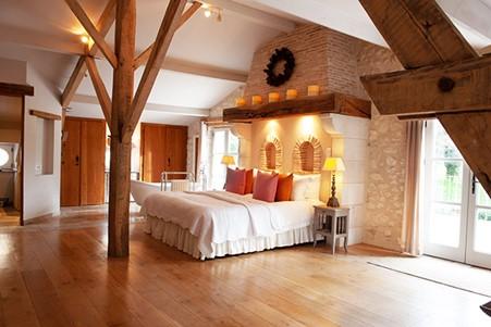 Chateau Lacanaud Bedroom